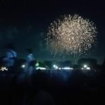 2016年の国営昭和記念公園花火大会でイベントの夏